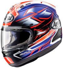 Arai RX7X Ghost Blue Helm Full Face - Graphic Blue