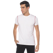STYLEBASICS Men Sports Innerwear T-Shirt (Single) - White/Maroon