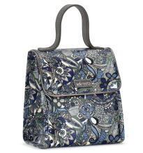 Sakroots Flap Lunch Bag Blue Steel Spirit Desert