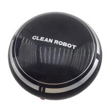 Mini Smart Robot Vacuum Cleaner Powerful Suction Smart Clean Wall Edge white