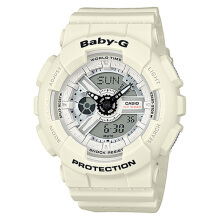 Casio Baby-G BA-110PP-7ADR Water Resistant 100M Resin Band [BA-110PP-7ADR] - White