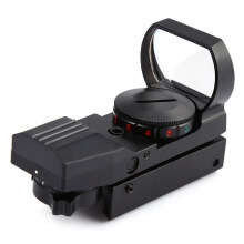 Shengmeiid JH400 Hunting Holographic Reflex Red Green Dot Sight Scope 11MM 11 x 22 x 33 Black