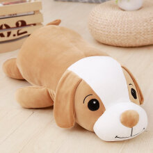 [kingstore] Dog Plush Doll Ornament Girl Birthday Present Brown