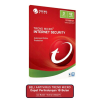 TREND MICRO Internet Security (3 Devices) 12 Month - Retail Serial Key Only