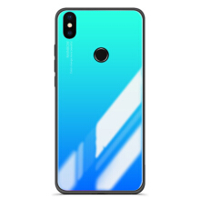Bakeey Gradient Color Tempered Glass Soft Edge Protective Case For Xiaomi Mi A2 / Xiaomi Mi 6X Blue