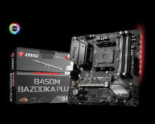MSI Motherboard B350M Bazooka Plus Black