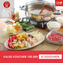 Red Suki Voucher Value Rp 100.000