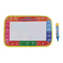 [COZIME] Baby Kids Doodle Painting Picture Water Drawing Play Mat With Pen 25*16.5 cm Multi Color