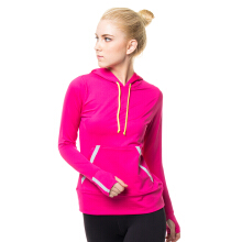 CoreNation Active Olsen Long Sleeve Top - Fushia+Topi