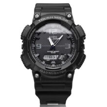 Casio AQ-S810W-1A2 Sports double display waterproof electronic watch-Black