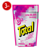 TOTAL Matic Liquid Detergent Top Load 2L x 3pcs
