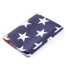 [kingstore]Jumbo Polyester American Flag USA US Be Proud&Show off Your Patriotism Multicolor Multicolor