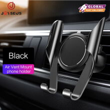 JOYSEUS Car Phone Holder Universal in Car Holder Stand Air Vent Mount Clip Cell Mobile Phone Holder 360 Rotation