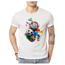 Fashionmall 2018 Russia FIFA Classic Football World Cup Soccer Mens T Shirt Tee
