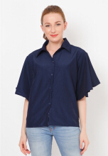 Shop at Banana Gita 42 Navy Blue All Size