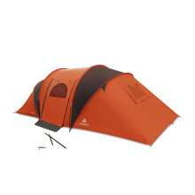 Eiger Rendezvous 6P Tent - Orange Orange