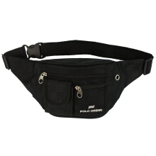 Waist Bag Polo Design HI-349 Black