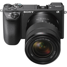 [free ongkir]SONY ILCE-A6500M Kit E 18-135mm f3.5-5.6 OSS - Black