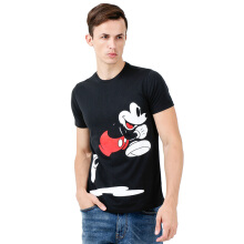 DISNEY Mickey Running Roundneck T-shirt - Black