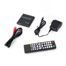 [COZIME] US Mini 1080P Full HD Media Player-With MKV/RM/USB HDD-HDMI Function Black