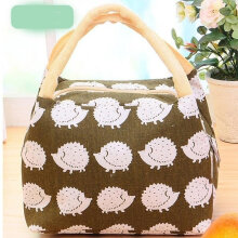 [COZIME] Waterproof Cartoon Printed Oxford Cloth Outdoor Picnic Travel Lunch Box Bag Others1