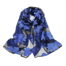 Anamode Floral Printed Scarves Women Beach Shawl Girls Elegant Long Soft Wrap Scarf -