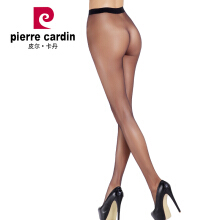 Pierre Cardin stockings women's pantyhose seamless sexy thin section velvet invisible female stockings black code 2 strips