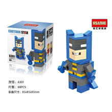 Hsanhe Cube Bricks  6301 Btm Blue Black