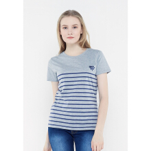 FBW Carly Striped Female T-shirt - Abu Abu