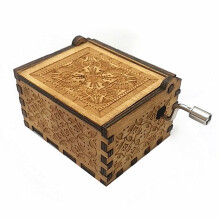 baellerry Pure Manual Wooden Music Box
