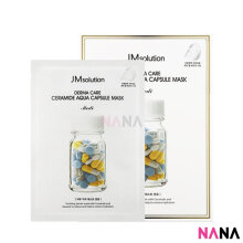 JM Solution Derma Care Ceramide Aqua Capsule Mask (10 Sheets/ Box)