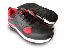 RECORD Air Pro Sepatu Men Running Shoes Hitam/Merah
