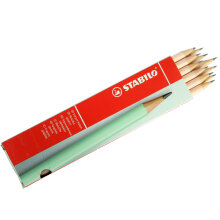 STABILO Schwan Pencil 2B Pastel - Apricot (1 Pack isi 12 Pieces)