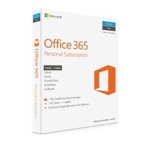 MICROSOFT Office 365 Personal 32-bit/x64 English Subscr 1YR APAC EM Medialess (Bundling Asus Avengers)