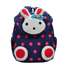 [COZIME] Cartoon Rabbit Cute Pattern Children Canvas Backpacks Kindergarten School Bag Others1
