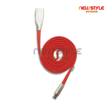 Newstyle OT-7553 Kabel data multi-fungsi 2-in-1 Apple Android dua sisi yang universal pengisian Red