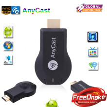 JOYSEUS HDMI Full HD1080P Anycast M4 Ezcast Miracast Any Cast Air Play Wifi Display Receiver Dongle for Windows Andriod Black