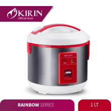 KIRIN Rice Cooker 1L KRC 087 - Red