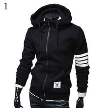 Farfi Men's Slim Loose Hoodie Hooded Sweatshirt Coat Jacket Outwear Sweater