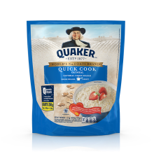 QUAKER Quick Cooking Oatmeal Value Pack 1.2kg (1000+200g)
