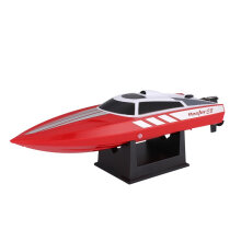 COZIME 795-1 28km/h 2.4G Brushed RC High Speed Racing Boat Ship Water Cooling System Red