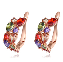 murtoo Women's Multi Zircon Earring multicolor
