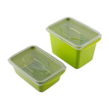 (SB) VICTORYHOME Food Box 1000ml & 500ml Set of 2 - Green