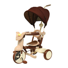 IIMO Foldable Tricycle #02 SS - Brown