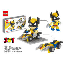 Dr Star Bricks 542 Wolverine Superhero Muylticolor