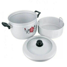 MASPION Pancaguna Tutup Kaca Steamer Rice Cooker- 24Cm