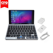 GPD 7.0-Inch GPD Pocket Laptop Handheld Game Player 8GB RAM+128GB EMMC For Win10 Grey  US plug