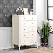 iFURNHOLIC Baroque High Chest - Tempat Penyimpanan
