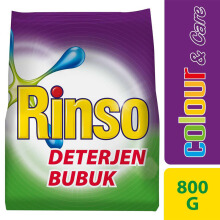 RINSO Deterjen Bubuk Colour and Care 800gr