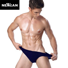 Newlan Fashion Men Briefs Milk Silk Panties